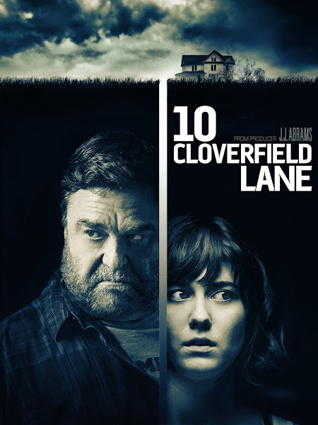 Poster of 10 Cloverfield Lane 2016 720p Hindi BRRip Dual Audio Full Movie Download