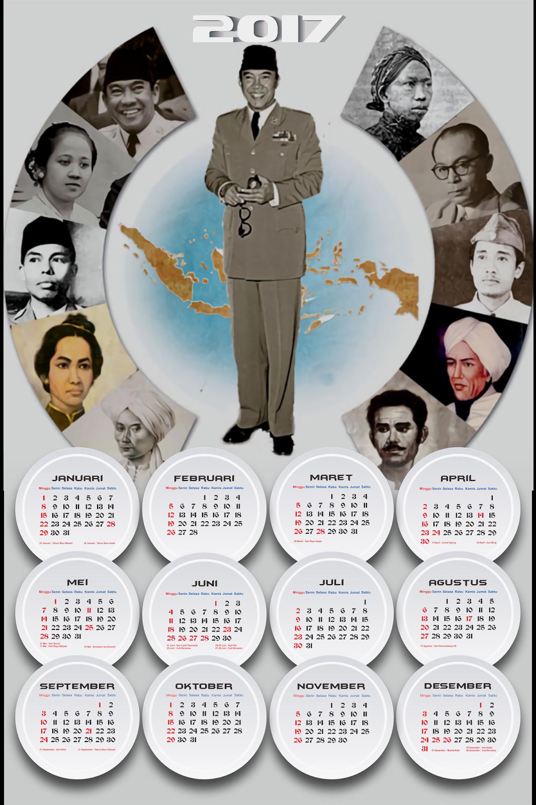Desain Kalender Keren - Jasa Desain Kalender Mulai Dari 30 ...