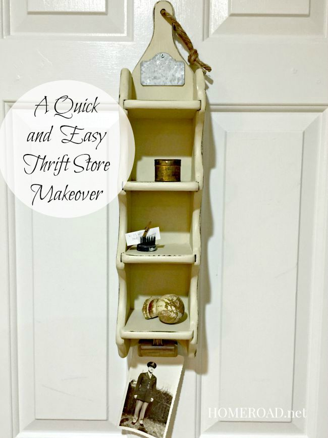 Thrift store makeover @ homeroad.net