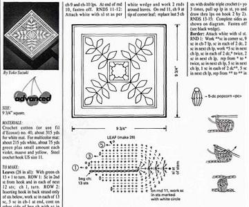 wzory motywow szydelkowych
