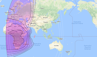 Satellite Beam Intelsat 22 72.1°E C Band