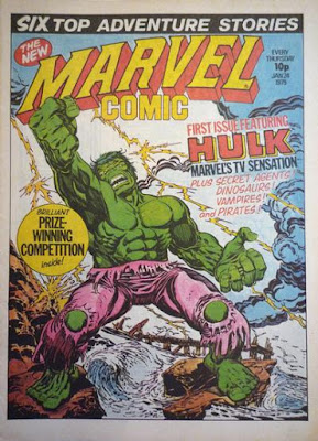 Marvel UK, Marvel Comic #330, the Hulk