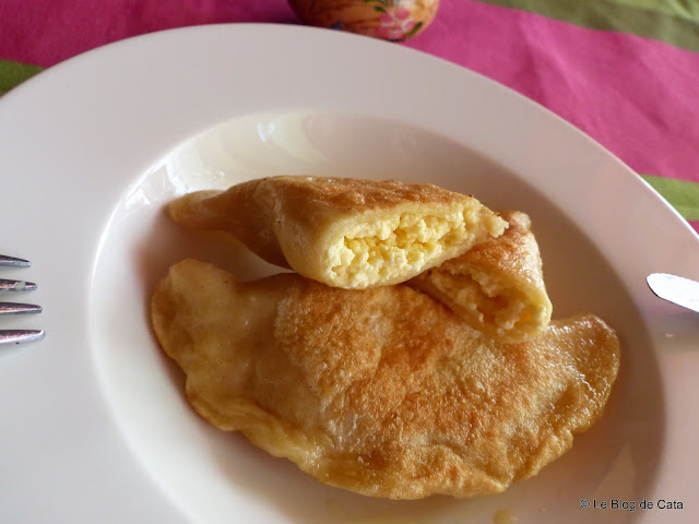 Pierogi poloneze / Coltunasi cu branza