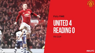 Manchester United vs Reading 4-0 All Goals & Highlights Video