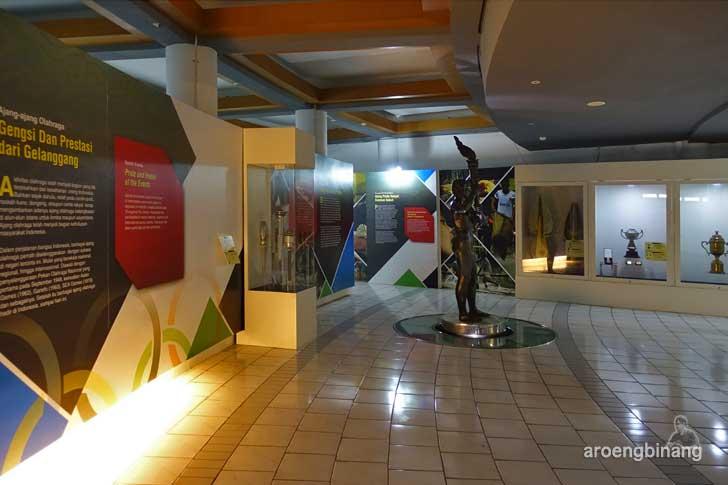 museum olah raga nasional tmii jakarta