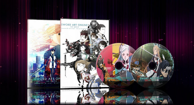 Sword Art Online Movie: Ordinal Scale | Cover DVD |