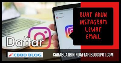 buat akun instagram lewat hp dengan email