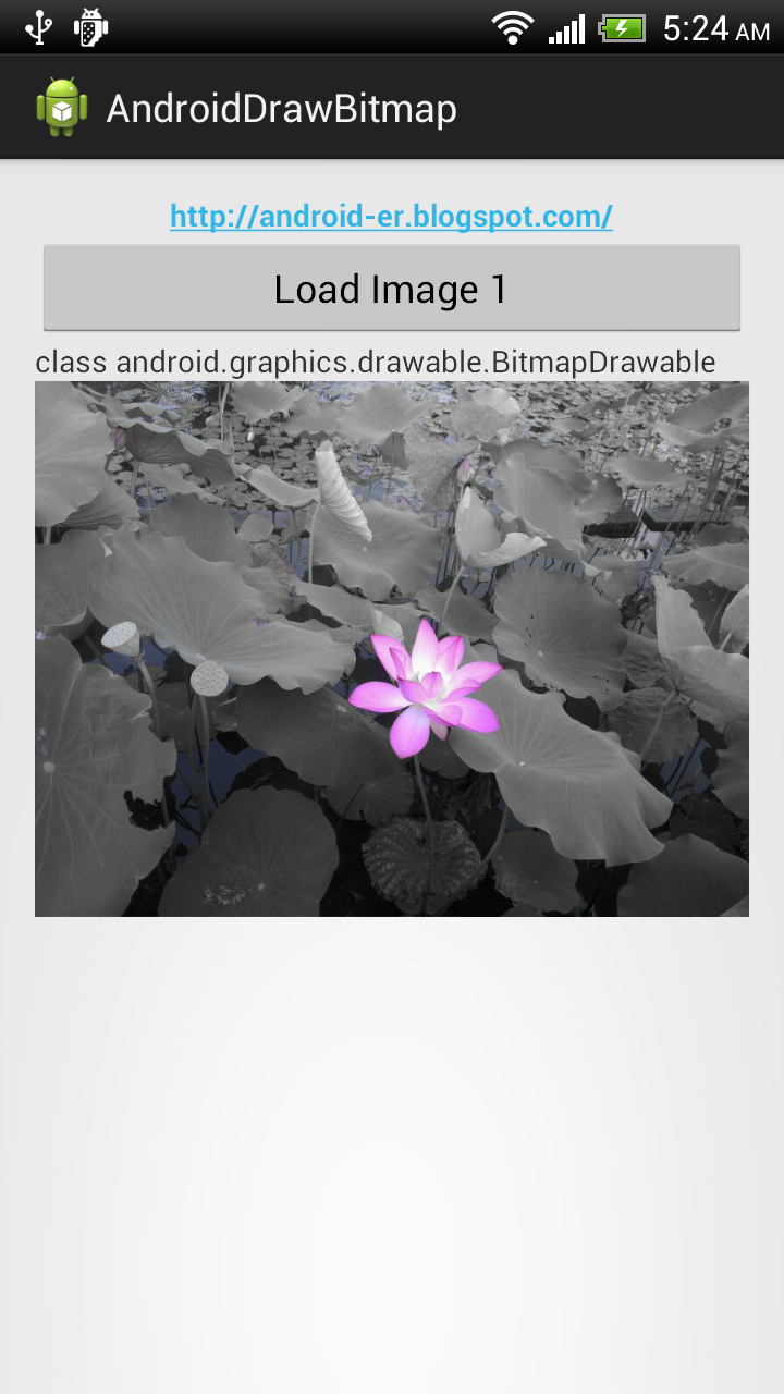 Android-er: Convert Bitmap to Drawable with BitmapDrawable