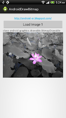 Convert Bitmap to Drawable with BitmapDrawable