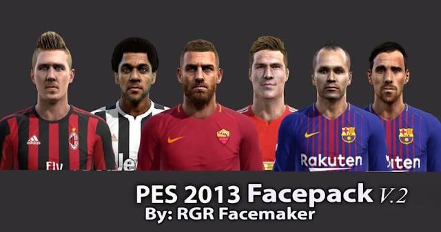 Facepack PES 2013