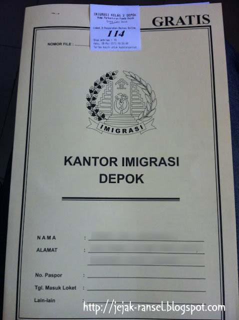 """Map Kantor Imigrasi Depok"""