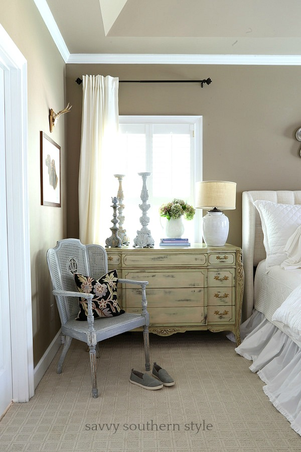 shutter bed savvy southern style layers of white summer bedding in the master