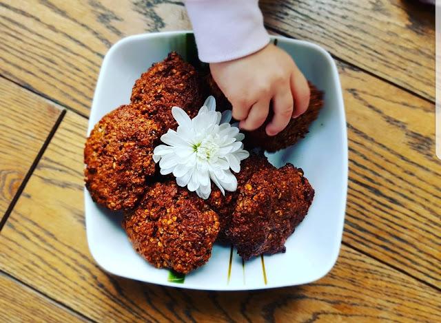 Orzechowe ciasteczka z chia
