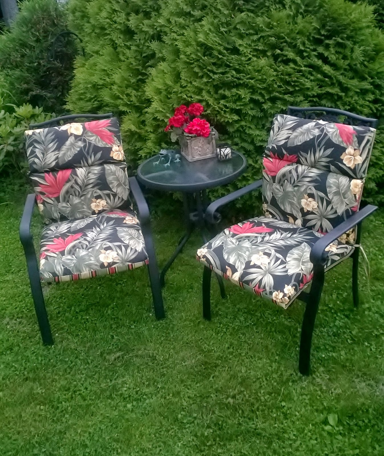 Re-Purposed Completed Patio Furniture