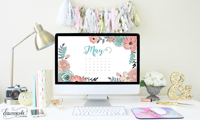 May Calendar - desktop wallpaper calendars
