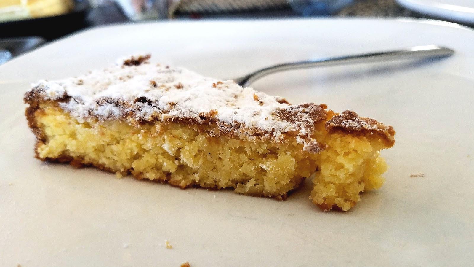 Of course for dessert, we had Tarta de Santiago!