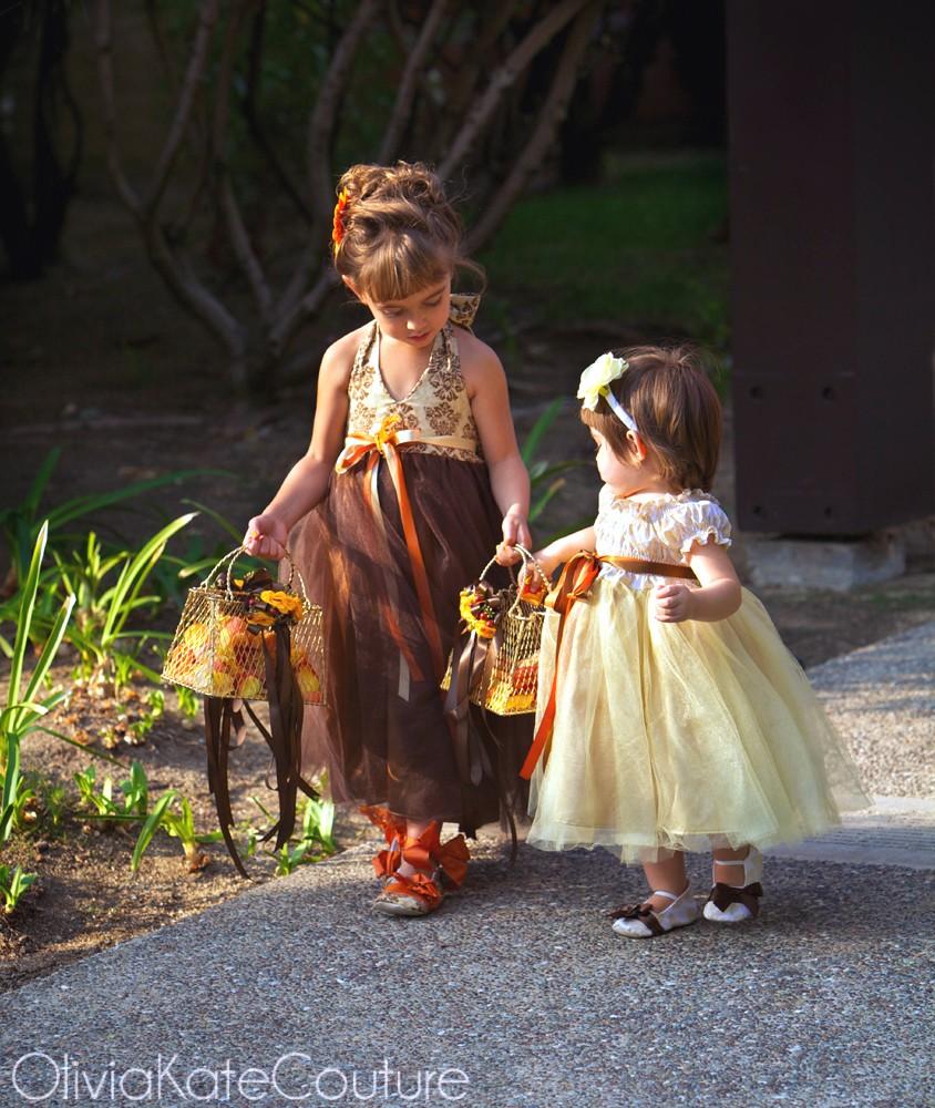 Flower Girl At Wedding: Flower Girl Dresses By OliviaKateCouture On Etsy Blog