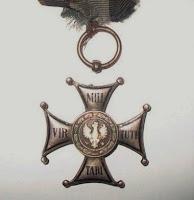 Krzyż Virtuti Militari należący do Henryka Dobrzańskiego