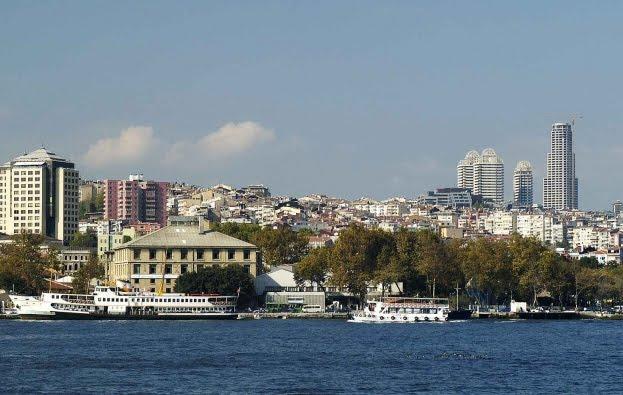 Distrito de Besiktas em Istambul