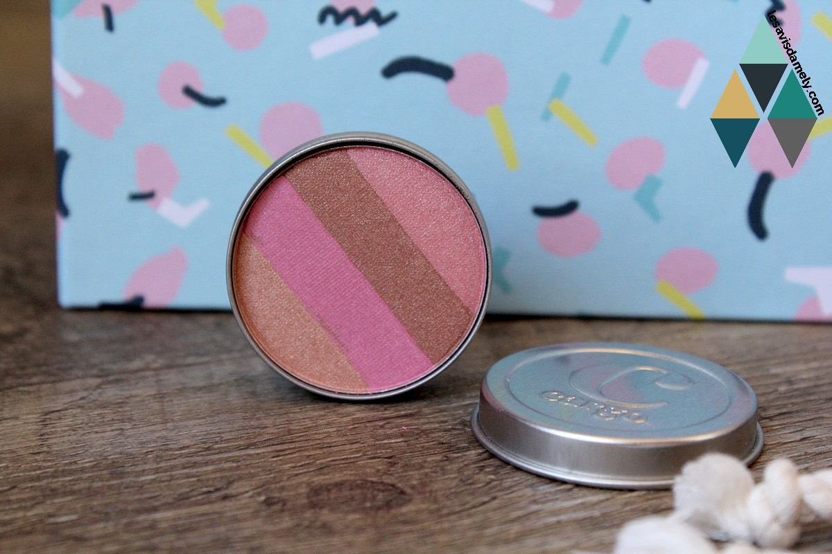 Bronzer « beachblush sunset » de Cargo Cosmetics