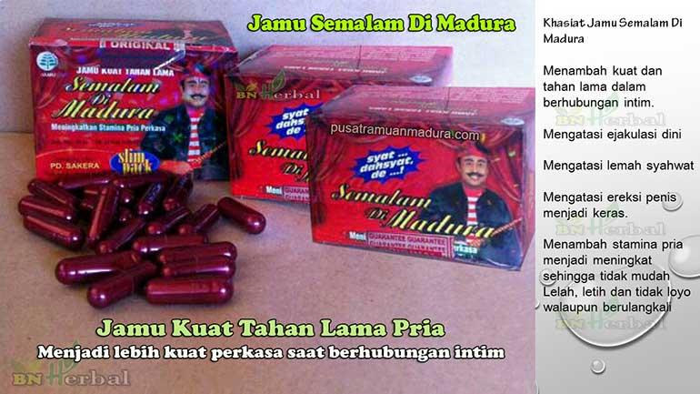Jamu Kuat Semalam Di Madura Original