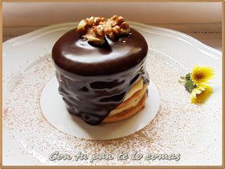 Tartitas  De Galletas, Crema Y Chocolate