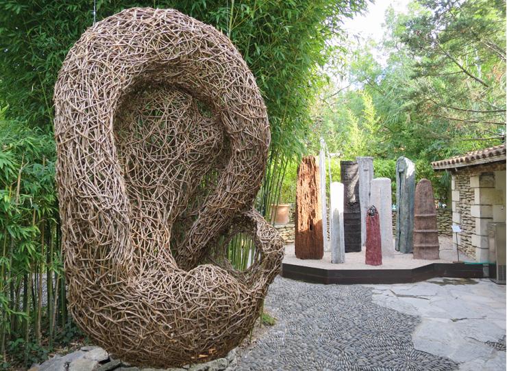 expo tissage tressage - Villa Datris