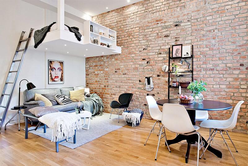 solu o para ambientes pequenos camas suspensas e beliches criativas conceito de estilo. Black Bedroom Furniture Sets. Home Design Ideas
