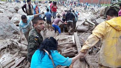 En Mocoa, Colombia, son cientos  los muertos, desaparecidos y heridos por una avalancha