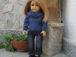 Free doll knitting pattern