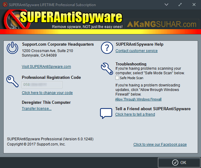 Gratis Download SUPERAntiSpyware Professional Final Full Crack Terbaru, SUPERAntiSpyware Professional Registration Code, SUPERAntiSpyware Professional License Key, SUPERAntiSpyware Professional Full Keygen