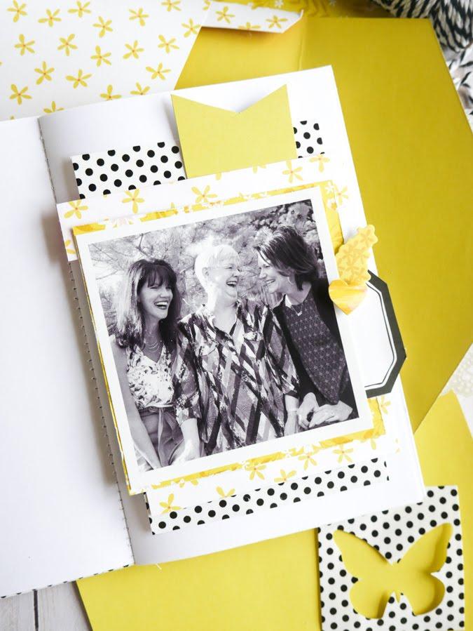 new Paige Evans Envelope Mini Album by Jamie Pate | @jamiepate for @paigeevans