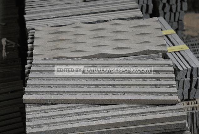 jual andesit alur gelombang atau anyaman dan alur cacing di alam sutra, bsd, bintaro dan gading serpong