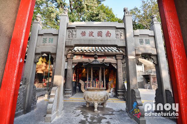 A-Ma Temples in Macau China