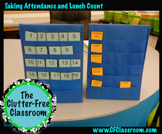 Learn how to take attendance using an attendance tracker, morning activities, and elementary procedures using easy routines and classroom management strategies from the Clutter Free Classroom. Make taking attendance fun!