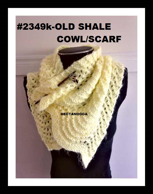 Hectanooga Patterns Free Knitting Pattern 2349k Old Shale