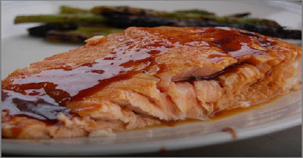 Ginger Glazed Salmon Recipe