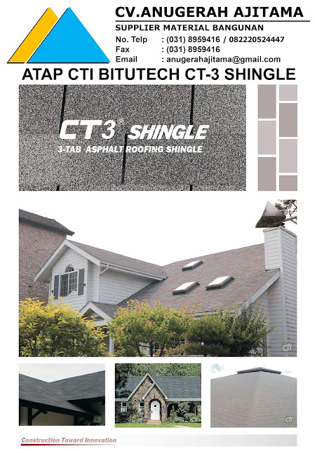 ATAP ASPHALT SHINGLE CTI BITUTECH CT3