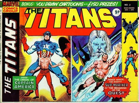 marvel comics uk