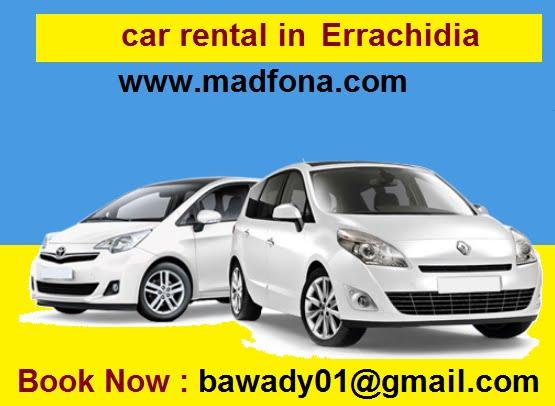 car rental in Errachidia