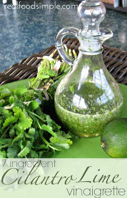 Homemade Cilantro Lime dressing | suzyandco.com