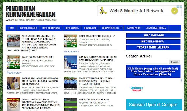 Ainamulyana.blogspot.co.id Situs Paling lengkap dan Terpercaya