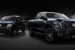 Nissan introduces midnight editions of the frontier, Titan and Titan XD