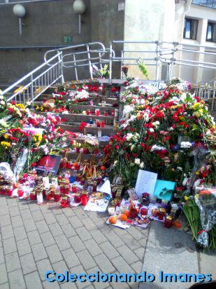 Memorial atentado San Petersburgo