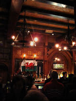 waxy o'connor's bar with welsh flag