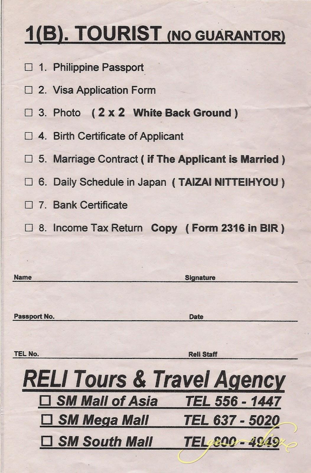 JP+Visa+requirements_w Japan Tourist Visa Application Form Desh on