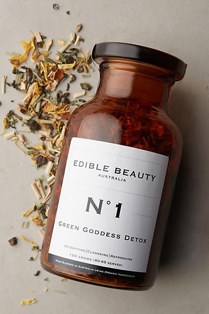 Anthropologie Green Detox Tea Organic