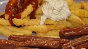 makanan olahan, sosis dan nugget