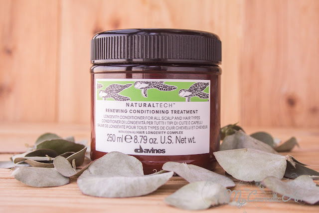 Davines: champú y mascarilla Naturaltech