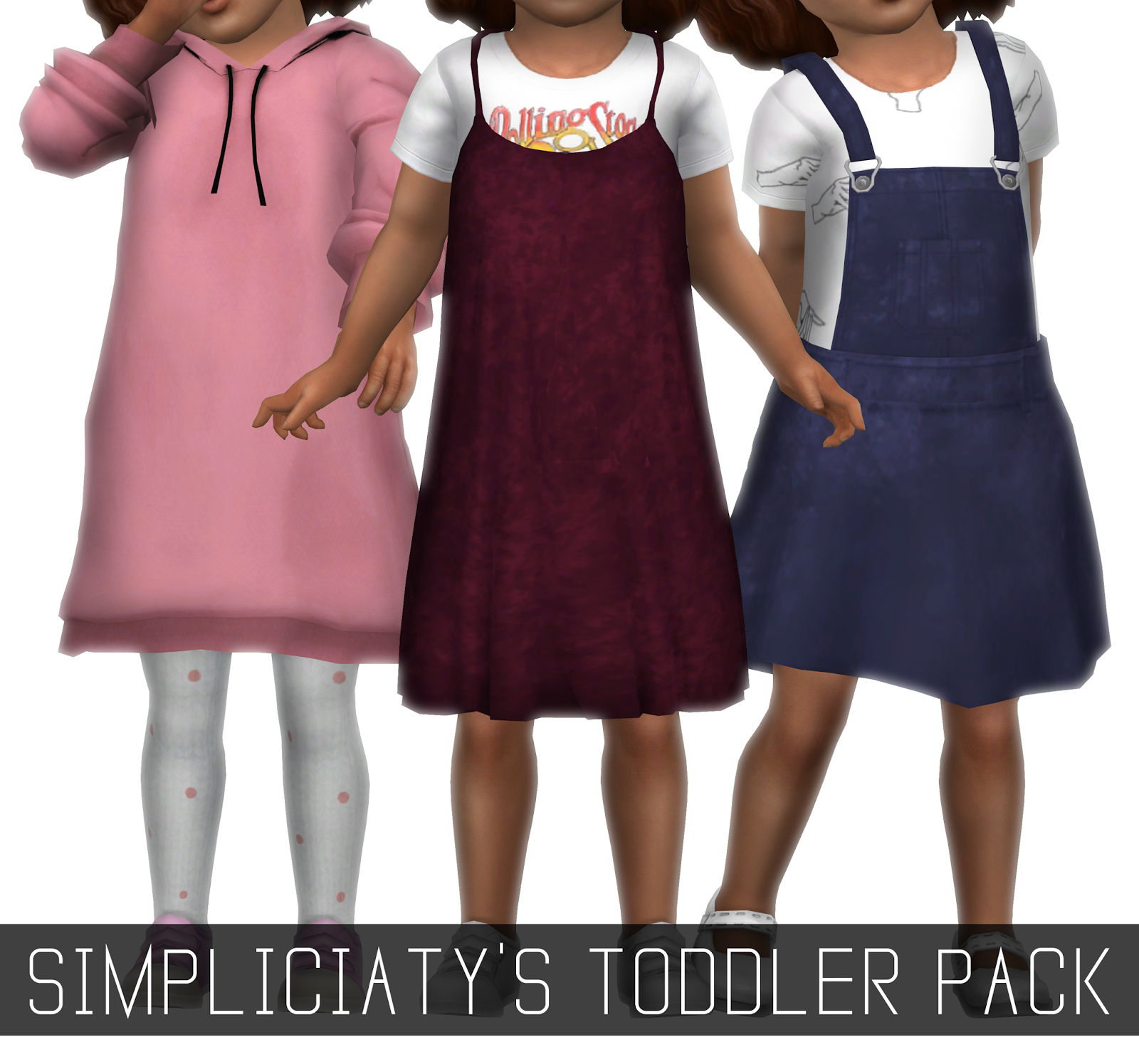 SIMPLICIATY'S TODDLERS PACK - Simpliciaty